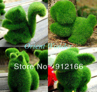 Wholesale small cute animal design decorations artificial animals grass land