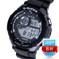 Unisex Complete Calendar Analog AUDI ots fashion multifunctional sports watch colorful watch