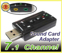 Wholesale USB External D Audio PC Sound Card Adapter Channel
