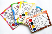 Wholesale New Arrival Painting in water colours Children s toys Hand painted diy To develop the intellectual Medium