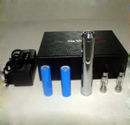Wholesale Chrome Lava Tube chrome body Lavatube E cigarette Kit with x CE4 Atomizer and x mAh DHL