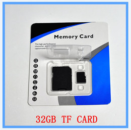 Wholesale Class GB SD TF Memory Card with Adapter Blister Packaging for Smartphones and Tablets galaxy s ii lte i727r galaxy s ii lte i9210 gal