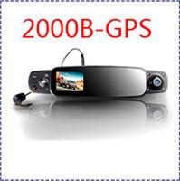 Cheap 1 channel 2000B car dvr camera GPS Best 3.0 inch LCD,TFT 720P car dvr camera