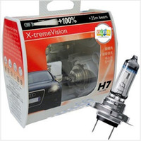 Wholesale X treme Vision halogen xenon bulb H7 XV headlight bulb lamp V W Replacement for Philips style AAA