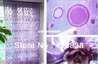 Wholesale cmX280cm circle curtain string panel fringe panel room divider wedding drapery