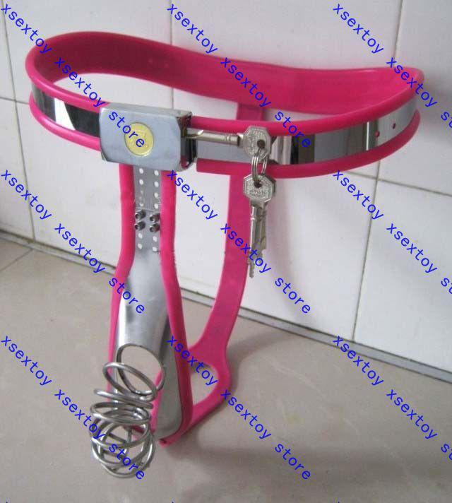 Chastity belt no catheter cb male chastity chasidity belt from xsextoy
