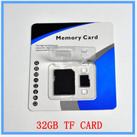 Wholesale DHL Class GB Micro SD Card Class SDHC C10 TF Memory Cards with Free SD Adapter Free Blister Packaging months warranty