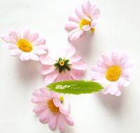 Wholesale Sale Wedding Decoration Flower cm Light Pink Rural Style Little Sun Artificial Flower