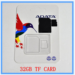 Wholesale DHL EMS New GB SD Card TF Memory Card Class Flash SDHC Cards Adapter Free Retail Package D galaxy tab cama p100 galaxy tab lte i9