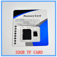 Wholesale DHL EMS New GB SD Card TF Memory Card Class Flash SDHC Cards Adapter Free Retail Package optimus xperia neo l xperia sola xperia u x