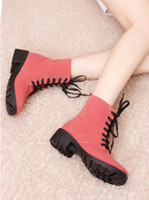 Free shipping 2013 pink colors Casual boots Classic women fl...