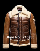 Men Waist_Length Down New style 2013 Brand fashion designer Mens down jackets outwear parka coats fur Winter warm Christmas 2cols Free shipping