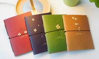 Wholesale Freeshipping NewCreative vintage world travel Diary Notebook Note pad Memo M size