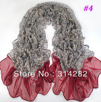 Wholesale 2013 new type women printe fashion geometry popular scarf shawls cotton voile wrap hijab winter scarves color