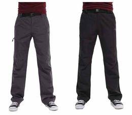 Mens Softshell Pantalones Agua Resistente WindStop pantalones para Senderismo Climing Golf # C1333