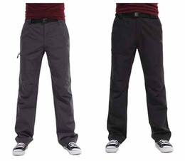 Wholesale Mens Softshell Pants Water Resistant Windstop Trousers For Hiking Climing Golf C1333