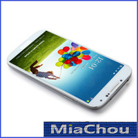 Wholesale 1 S4 i9500 Inch HDC S4 Android Smart Cell Phone WCDMA G GSM Quad Core MTK6589 GB GB GPS WiFi Micro Sim MP Camera