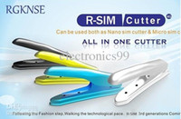Wholesale Cutter SIM Cutter and Micro sim Adapter for iPhone G R SIM nano sim dual cards cutter