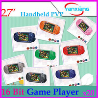 Wholesale DHL Inch Bit Video Game Consoles Handheld Game Console PXP3 Station Light RW PXP3