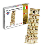 Wholesale The Leaning Tower of Pisa D Puzzle Model Kids Childrens Educational Toys Gift