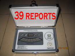 Wholesale New generation comparative reports dual core Quantum Magnetic Resonance Analyzer DHL free ship