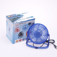 Wholesale 10pcs Portable Super Mute PC USB Cooler Cooling Desk Fan Mini fan do drop shipping