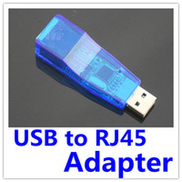 Wholesale 200X NEW Mbps USB RJ45 Ethernet Network LAN Card Adapter Computer Interface Cards