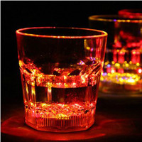 Wholesale New Creative Goods Cold Light Induction Light Flashing Beer Cup Bottle Mug Wine LED Put Water Cup Lighting