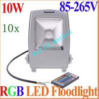 Wholesale W LED flood light Mini Spotlightst Epistar mil cool white warm white lm Floodlight Outdoor