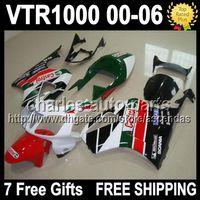 7giftsFor HONDA VTR1000 VTR 1000 RTV1000 Castrol Red green 0...