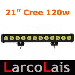 "21"" 120W Cree LED Light Bar Working Light Bar Flood Spot Beam Tractor Truck Trailer SUV Jeep Offroads Boat Super Bright High Power"