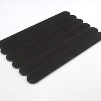 Nail Buffer sandpaper  Brand Thin Sandpaper 2-Sided Black Buffer Files Sanding File Nail Art Tools B003