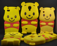 Wholesale Bear Winnie The Pooh Case Cover for IPHONE GS Iphone S Iphone Touch Touch S2 I9100 S3 I9300 S4 I9500 Ace s5830 Y s5360 S Advance
