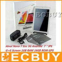 Wholesale Ainol Novo Eos Dual Core G Android Tablet HD P Dual camera Ainol Smartphone WCDMA New Ainol EOS G tablet PC Phablet