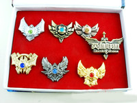 LOL big metal pin - anime game League of Legends brooches pins set classic gift for Collection