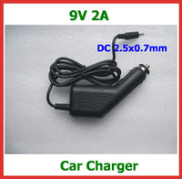 Wholesale 9V A DC2 x0 mm Car Charge for Flytouch Flytouch Superpad Superpad Cube U10GT Aoson M19 Tablet PC