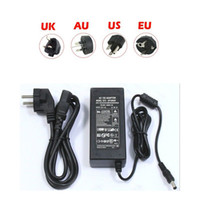 Wholesale UK US EU AU V A A W W Power Supply AC to DC Adapter LED Strip