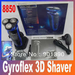 Wholesale Strong Shaver Gyroflex D Soft Touch Smooth electric shavers RSCX Heads Razor Rechargeable S