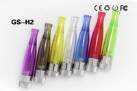 Wholesale Newest GS H2 Atomizer Hot in USA GS H2 Clearomizer no wick Rainbow color replace ce4 atomizer Compatible with All ego t battery