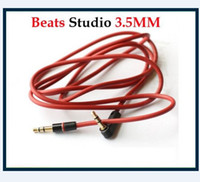 Wholesale MM Replacement Audio Cable For Beats Headphones for Studio Solo Pro Mixr