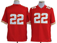 Wholesale 2013 Mens Game Dexter McCluster WR Red Sportswear Chiefs Jerseys Embroidery American Football Jerseys Comfortable Shirts On Sale