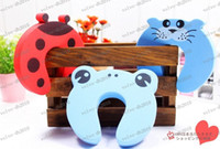 Wholesale LLFA2180 Child Baby Animal Cartoon Jammers Stop Door Stopper Holder Lock Safety Guard
