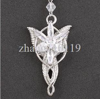 arwen pendent - HOT sliver The Lord of the rings The Arwen Evenstar pendent necklace movie jewelry YM128