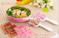 Wholesale Dress up doll rice mold to make sushi lunch box set DIY Tool