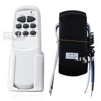 Wholesale Ceiling fan light remote control fan lights fan lamp receiver infrared switch radio frequency remote control