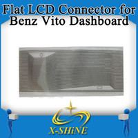 Car Diagnostic Cables and Connectors For Benz Flat LCD Connector Mercedes Vito wholesale Flat LCD Connector Mercedes Vito Dashboard, benz flex repair part