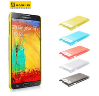 For Samsung Plastic  for samsung n9006 galaxy note 3 iii ultrathin case wiht screen protector retail packaging