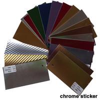 Wholesale 1 x30M X1181 air free bubbles chrome aluminium brushed film car vinyl wrap color