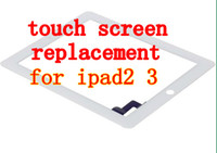 Wholesale Touch Screen Glass Digitizer Replacement Part black white For Ipad2 iPad Facytory Sale Drectly