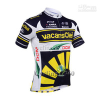 Wholesale Pro team vacansoleil cycling jersey cycling jersey pro cycling wear